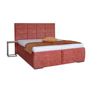 ENA vysoká čalúnená posteľ s úložným priestorom