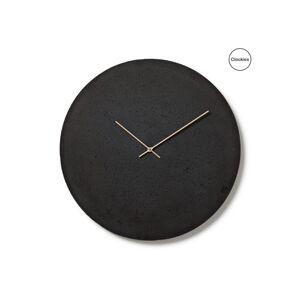 Betonové hodiny Clockies CL500301, antracitové, 50cm