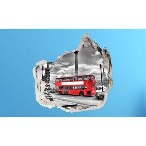 3D fototapeta, Autobus, 100 x100cm