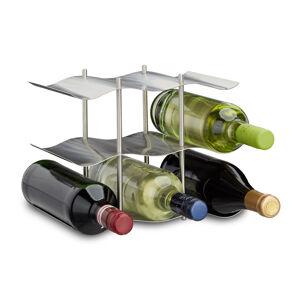 Stojan na víno z nehrdzavejúcej ocele rd0844