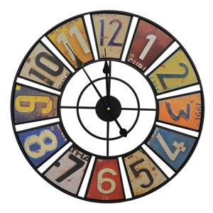 Nástenné hodiny Vintage, kovové, FAL671 60cm