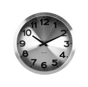 Dizajnové nástenné hodiny 5408SI Karlsson 40cm