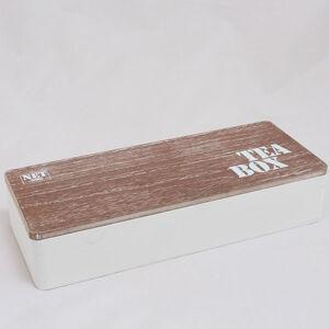 Drevená skrinka na čaj