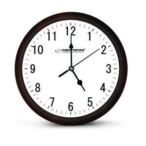 Nástenné hodiny ESPA LOS015W, biele 30cm