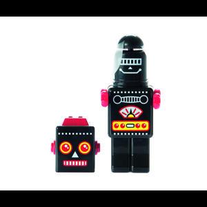 Fan mini Robot ventilátor, čierny