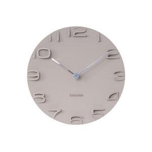 Nástenné hodiny Karlsson 5311GY, On The Edge, 42 cm