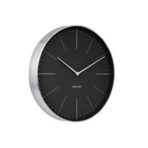 Dizajnové nástenné hodiny 5681BK Karlsson 38cm