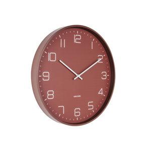 Dizajnové nástenné hodiny 5751RD Karlsson 40cm