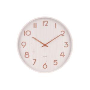 Dizajnové nástenné hodiny 5809WH Karlsson 40cm