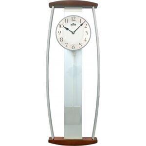Kyvadlové hodiny MPM 3052.54 drevo, 64cm