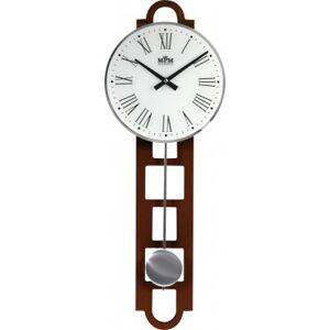 Kyvadlové hodiny MPM 3185.54 drevo, 68cm