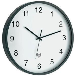 Nástenné DCF hodiny sivé, 30 cm