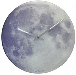 Nástenné hodiny 8634 Nextime Blue Moon 30cm