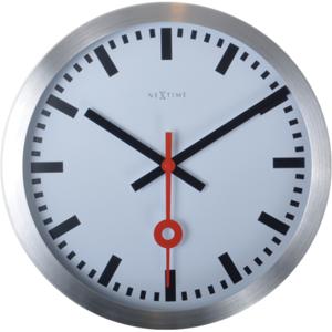 Nástenné hodiny 3998st Nextime Station Stripe 19cm