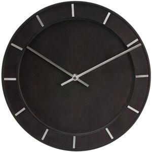 Nástenné hodiny Karlsson 5400BK Pure Black 29cm