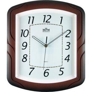 Nástenné hodiny MPM, 2417.50.SW - hnedá, 34cm