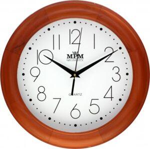Nástenné hodiny MPM, 2473.51.W - hnedá svetlá, 28cm
