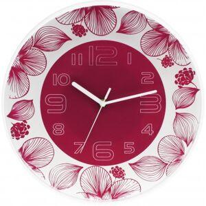 Nástenné hodiny MPM, 3227.23 - ružová, 30cm