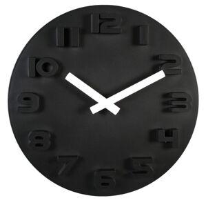 Nástenné hodiny Black & White, 30cm