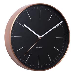 Nástenné hodiny 5507BK Karlsson 28cm