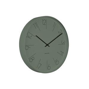 Nástenné hodiny KA5607GR, Karlsson, Elegant Numbers, 40cm
