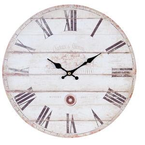 Nástenné hodiny Clayre & EEF, 6KL0408, 34cm