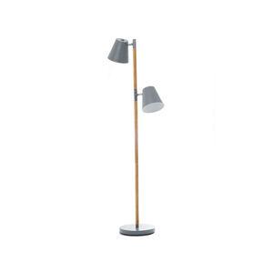 Podlahová lampa Leitmotiv Rubi 150cm, šedá