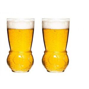 Poháre na pivo SAGAFORM Football Glasses, 45cl, 2ks