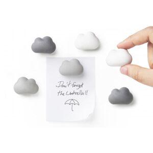 Sada magnetov Qualy Cloud Magnets, 6ks