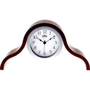 Stolové hodiny MPM, 2709.54 - tmavé drevo, 38cm