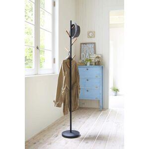 Vešiak Yamazaki Plain Pole Hanger, čierny