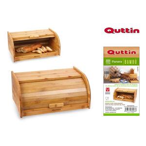 Bambusový chlebník Quttin 8066, 40 cm