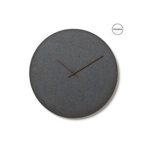 Betonové hodiny Clockies CL500202, bridlicové, 50cm