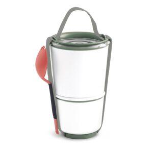 Black-Blum Lunch Pot BoxAppetit 800ml, biely/olivový