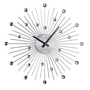 Dizajnové nástenné hodiny JVD HT071.1 Antracit 49cm