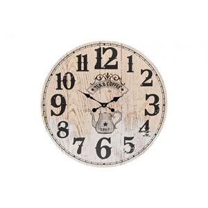 Nástenné hodiny Tea & Coffee, Wur2872, 59cm