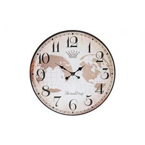 Nástenné hodiny The World Map,  Wur0539, 59cm