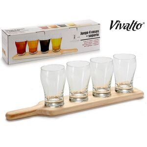 Drevený stojan s pohármi Vivalto 2134, 270 ml