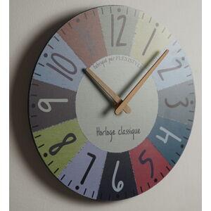 Dizajnové nástenné hodiny Parisian Flex z223 d-x, 30 cm