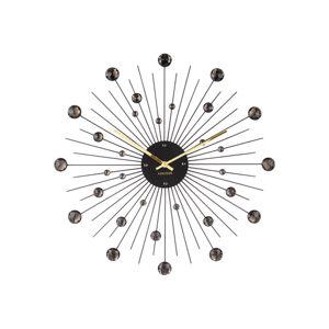Nástenné hodiny 4859BK Karlsson 50cm