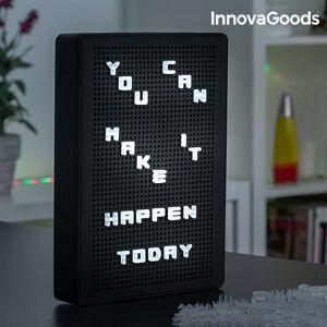 Inovačná doska InnovaGoods na vloženie písmen LED IN1089