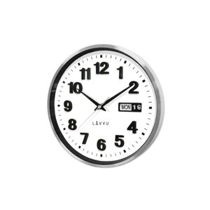 Kovové hodiny s ukazovateľom dátumu LAVVU DATE METAL, LCT4050