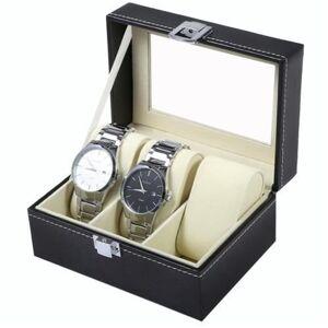 Organizér na 3 hodinky, čierny ISO8513