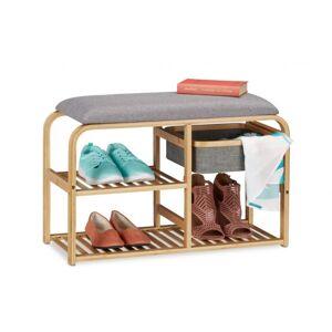 Lavica na topánky so sedadlom a úložným priestorom, RD0563