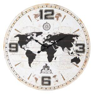 Nástenné hodiny Clayre & EEF, 5KL0149, 60cm