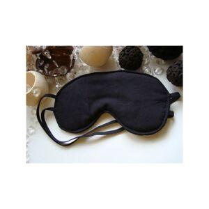Maska na spanie čierna, b2
