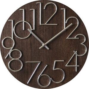 Nástenné hodiny drevené JVD HT99.3, 30cm