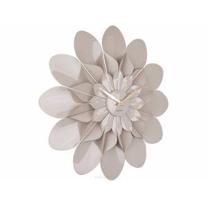Dizajnové nástenné hodiny Karlsson Flower 5731GY, 60 cm