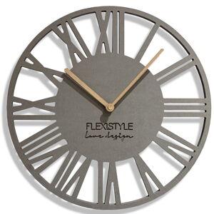 Nástenné hodiny Loft Piccolo Flex z219-1a-dx, 30 cm