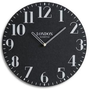 Ekologické nástenné hodiny London Retro Flex z222_1-2-x, 30 cm